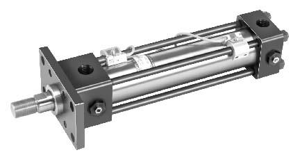 带接近开关的CJT型标准液压缸