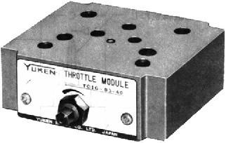 TC1G、TC2G叠加式节流阀、叠加式单向节流阀