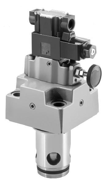 插装式电磁控制溢流阀(LBS)