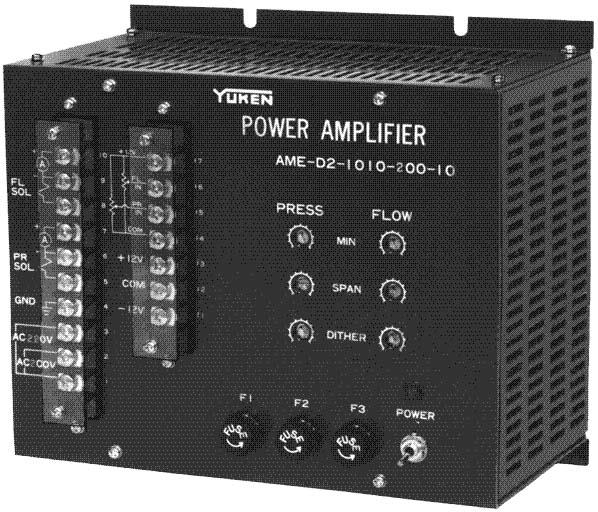 AME 10Ω-10Ω系列溢流调速阀用功率放大器