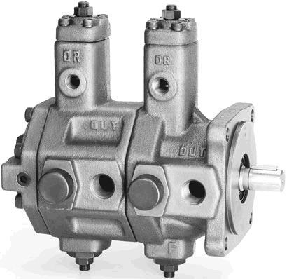 SVPDF 系列雙聯可變葉片泵